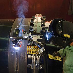 Zariadenia pre mechanizáciu zvárania a rezania