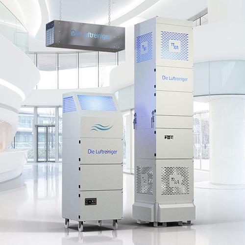 UV sterilizátory vzduchu s filtráciou