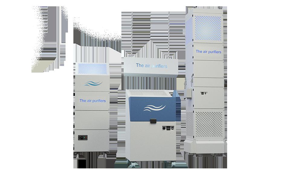 Sterilizátory vzduchu s filtráciou